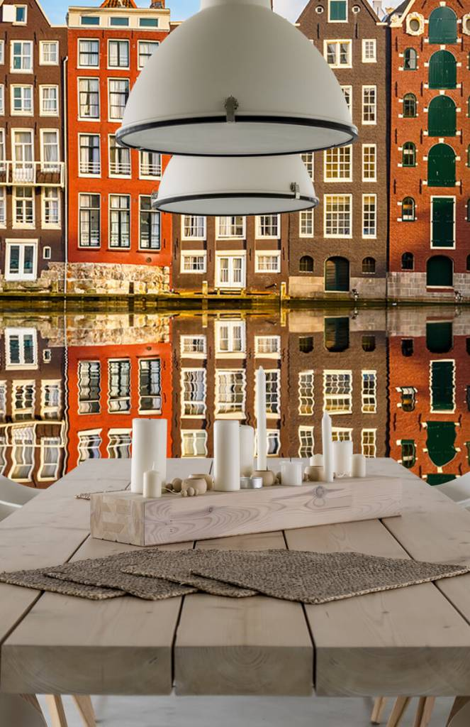 Steden behang - Amsterdamse gracht - Slaapkamer 1