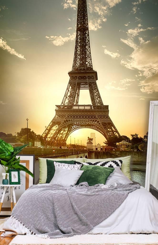 Monumenten - Eiffeltoren - Slaapkamer 1