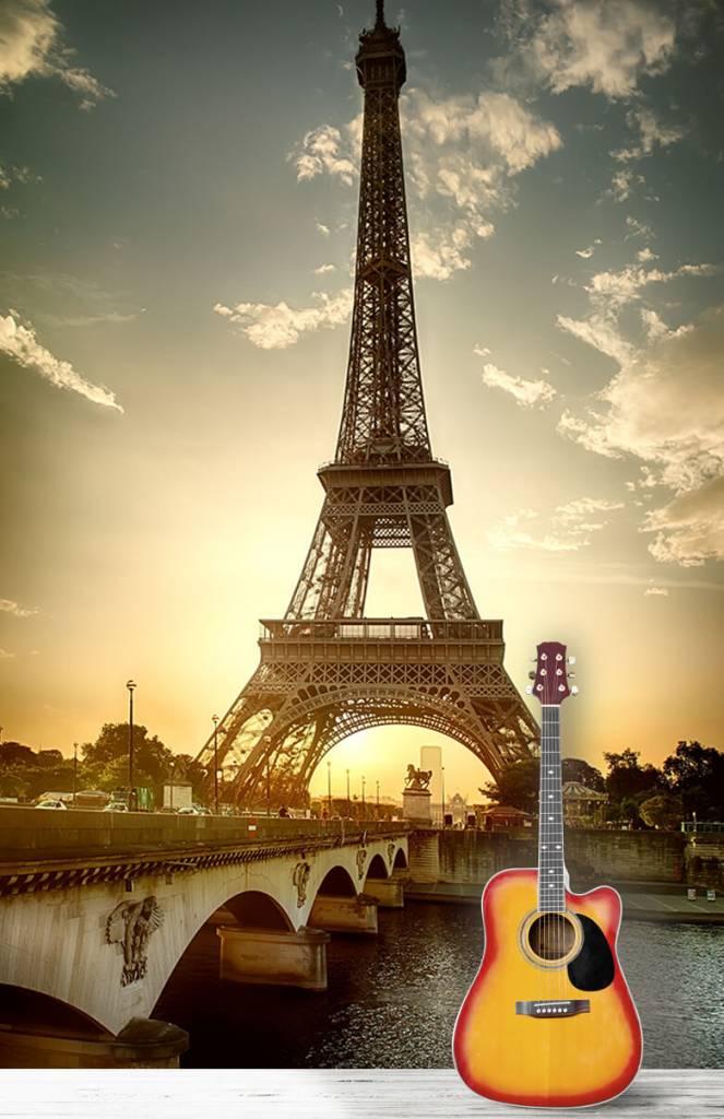 Monumenten - Eiffeltoren - Slaapkamer 6
