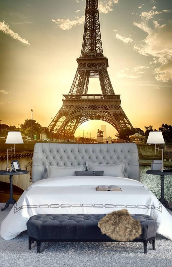 Monumenten - Eiffeltoren - Slaapkamer 8