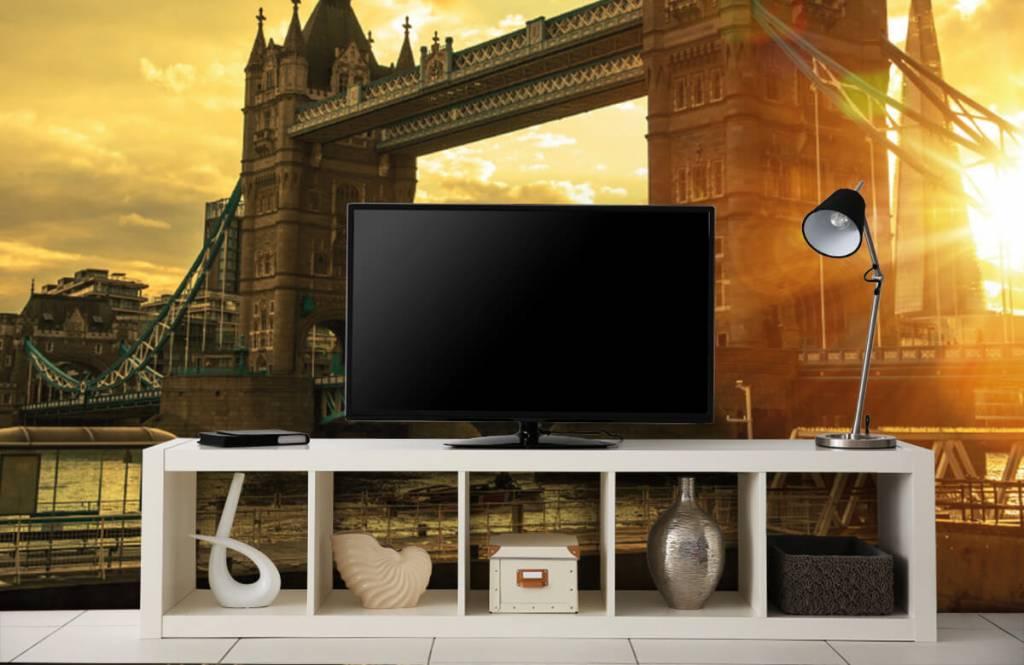 Steden behang - Londen Tower Bridge - Slaapkamer 5