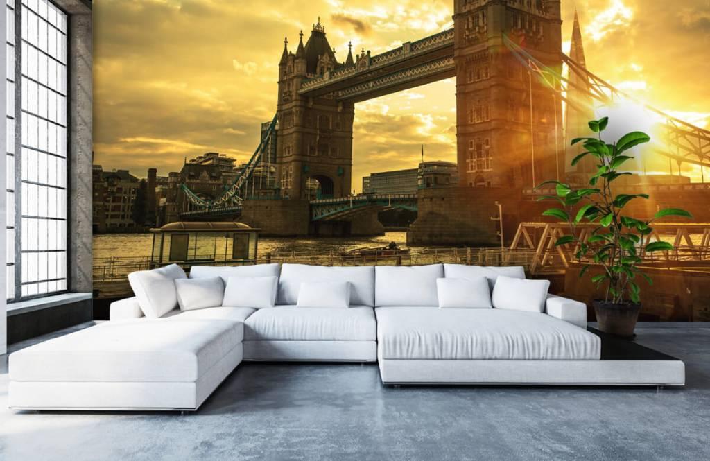 Steden behang - Londen Tower Bridge - Slaapkamer 6