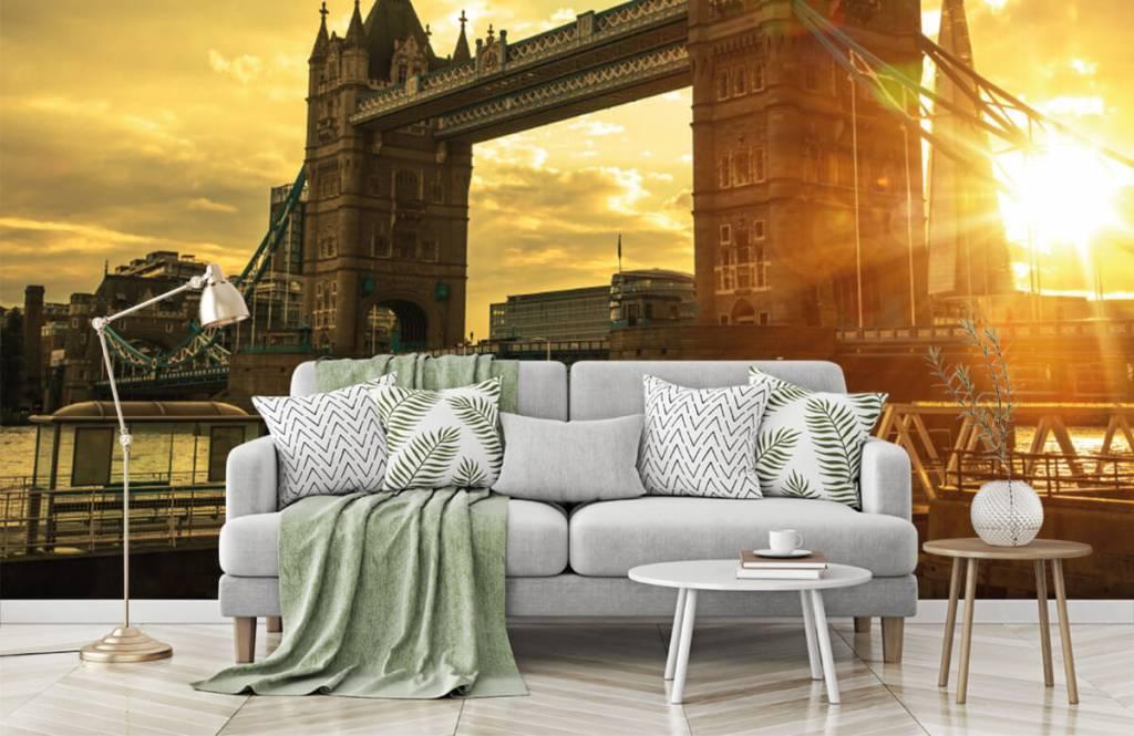 Steden behang - Londen Tower Bridge - Slaapkamer 7