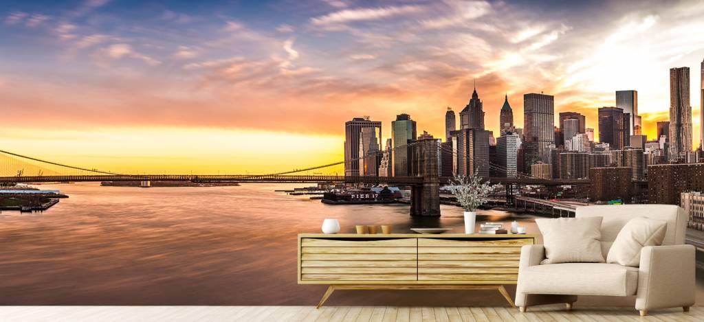 Skylines - Skyline van New York - Vergaderruimte 4