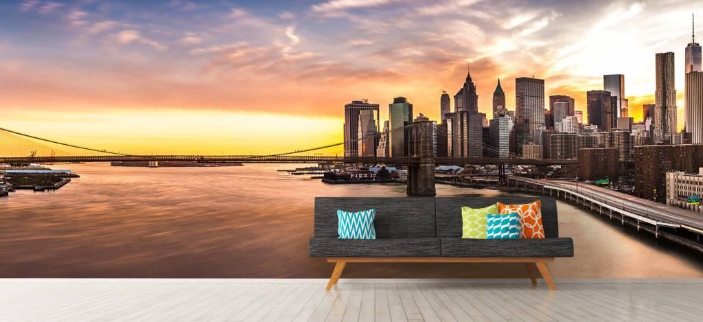Skylines - Skyline van New York - Vergaderruimte 6