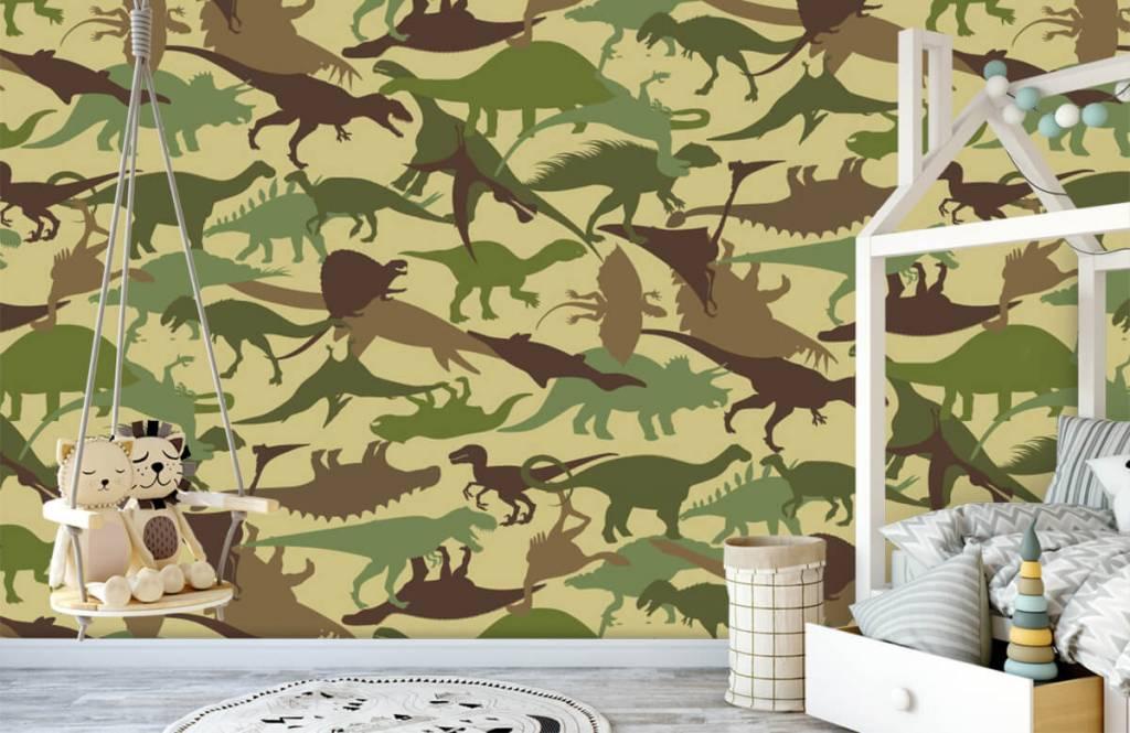 Dinosaurussen - Dino camouflage - Kinderkamer 1