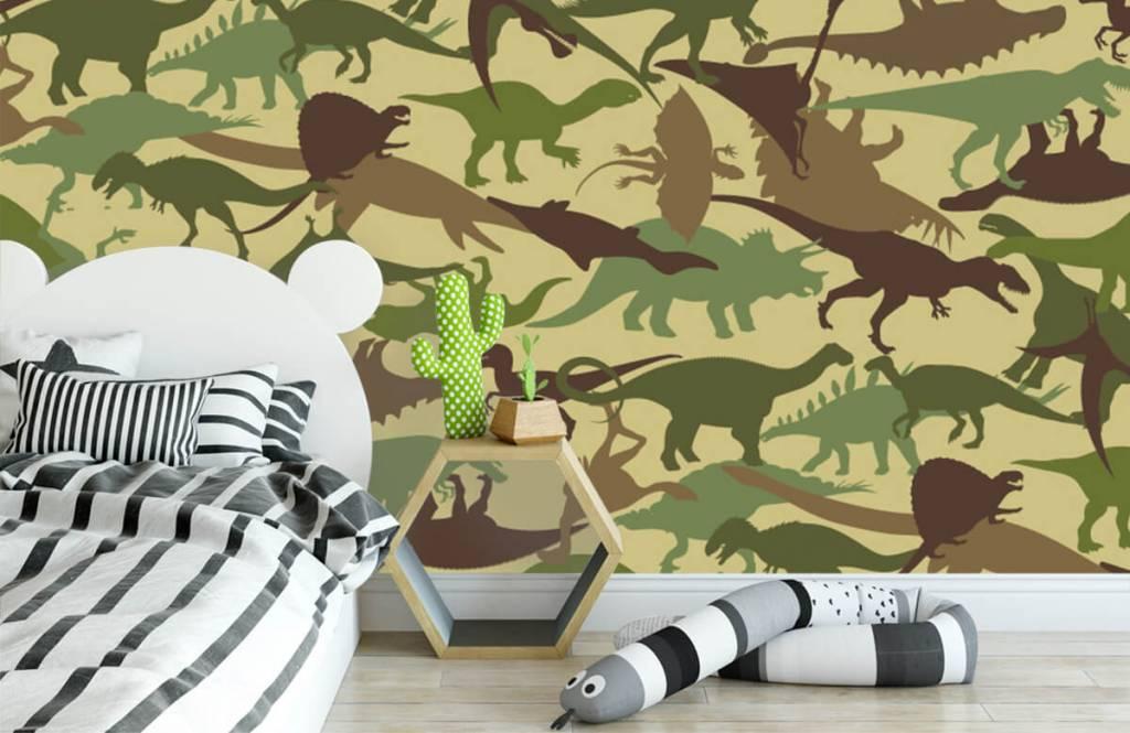 Dinosaurussen - Dino camouflage - Kinderkamer 3