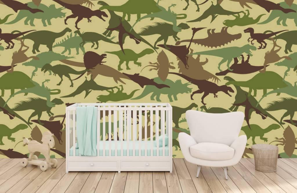 Dinosaurussen - Dino camouflage - Kinderkamer 5