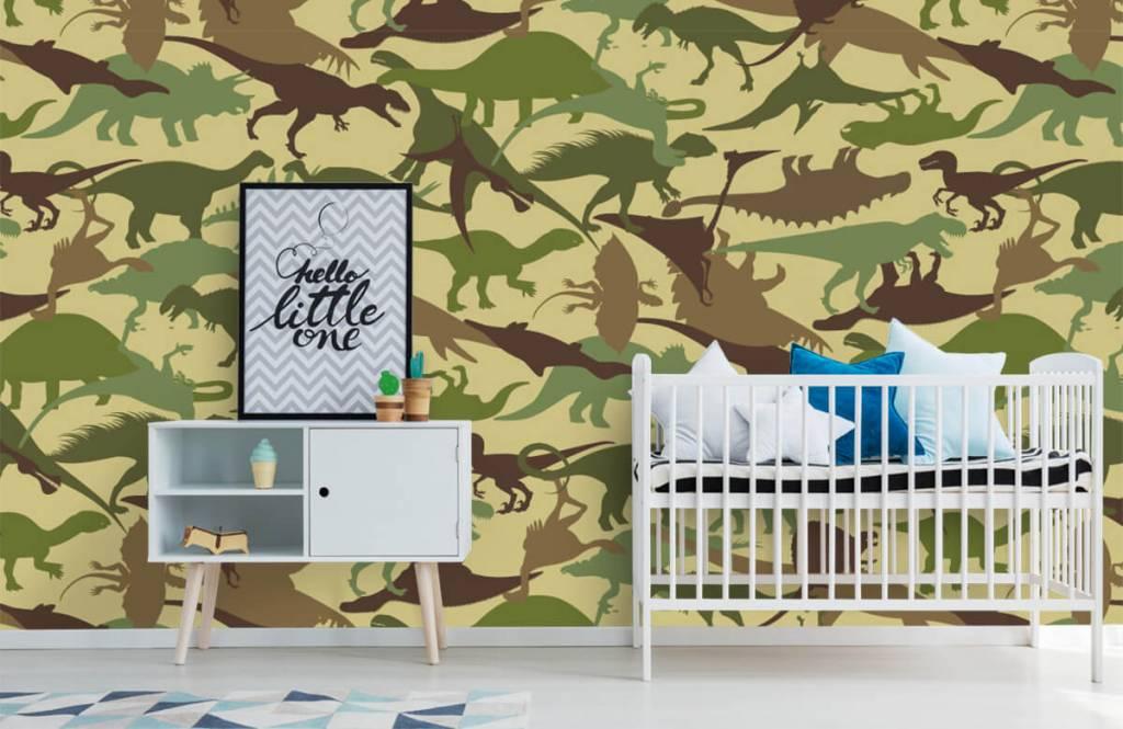 Dinosaurussen - Dino camouflage - Kinderkamer 6