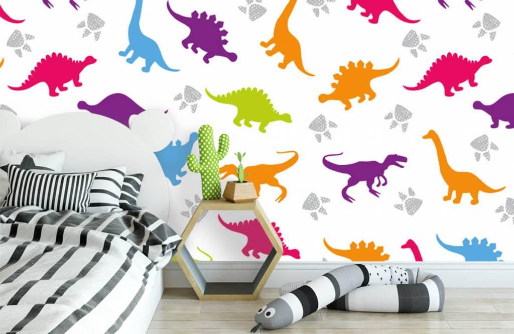 Jongensbehang - Dino's en pootjes - Kinderkamer 1