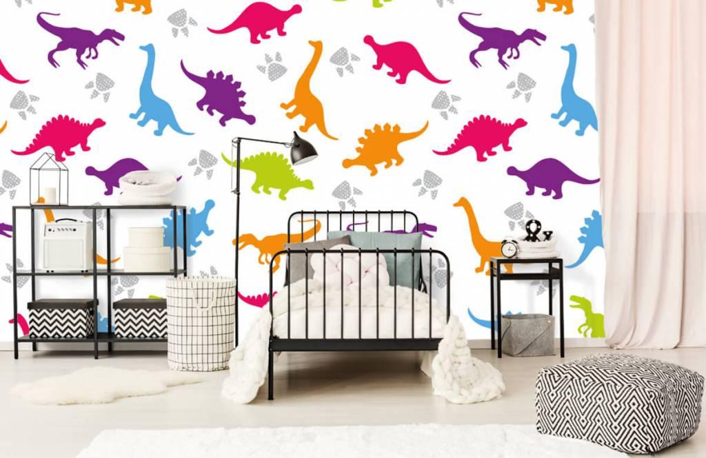 Jongensbehang - Dino's en pootjes - Kinderkamer 2