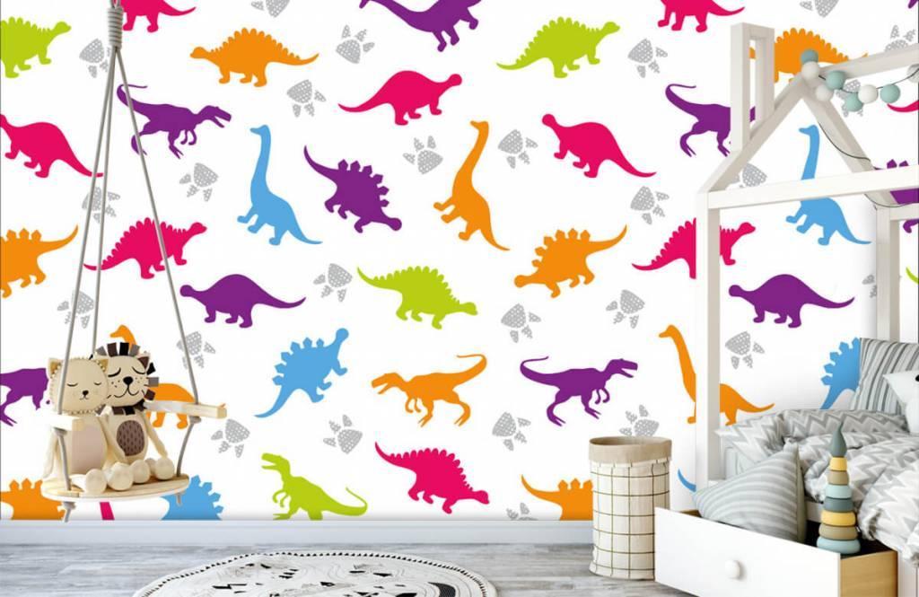 Jongensbehang - Dino's en pootjes - Kinderkamer 3