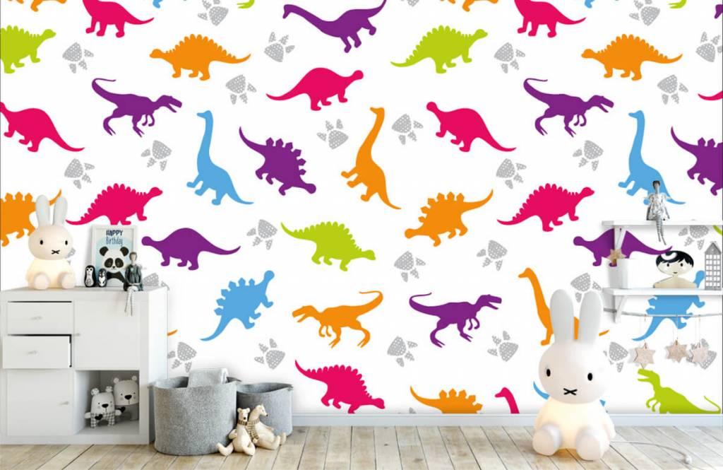 Jongensbehang - Dino's en pootjes - Kinderkamer 4