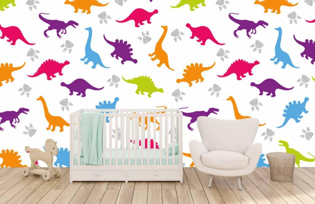 Jongensbehang - Dino's en pootjes - Kinderkamer 5