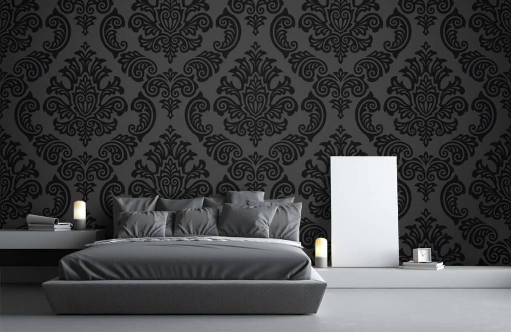 Barok behang - Donker barok - Slaapkamer 1