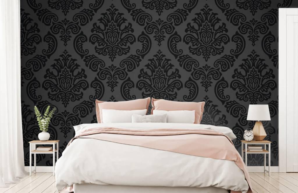 Barok behang - Donker barok - Slaapkamer 2