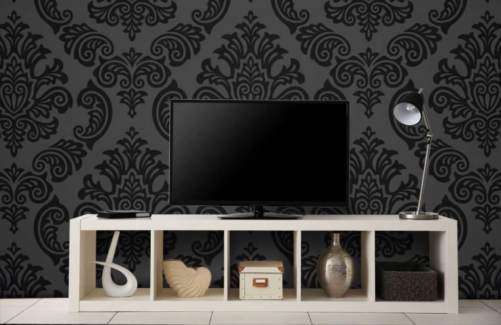 Barok behang - Donker barok - Slaapkamer 4