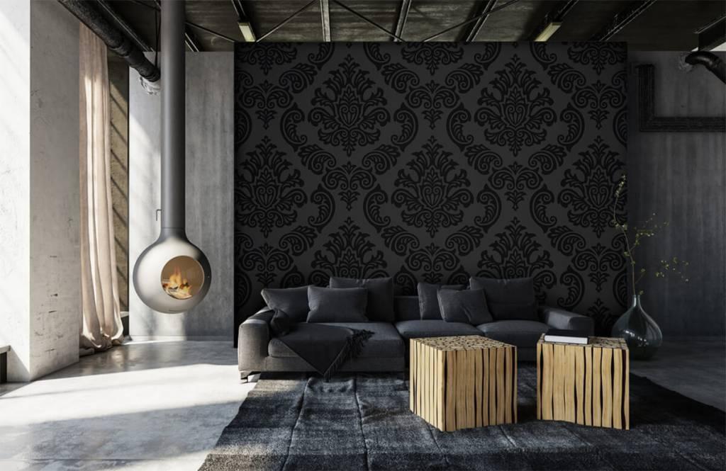 Barok behang - Donker barok - Slaapkamer 6