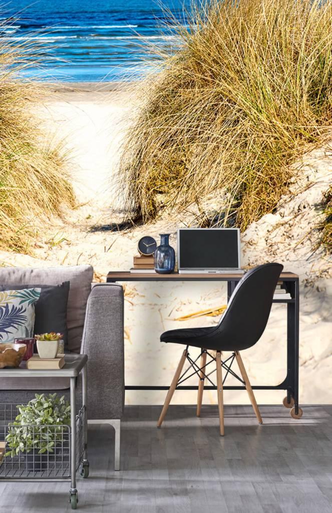 Stranden - Behang met duinen - Slaapkamer 2