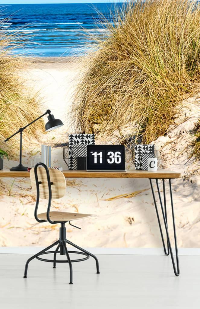 Stranden - Behang met duinen - Slaapkamer 3