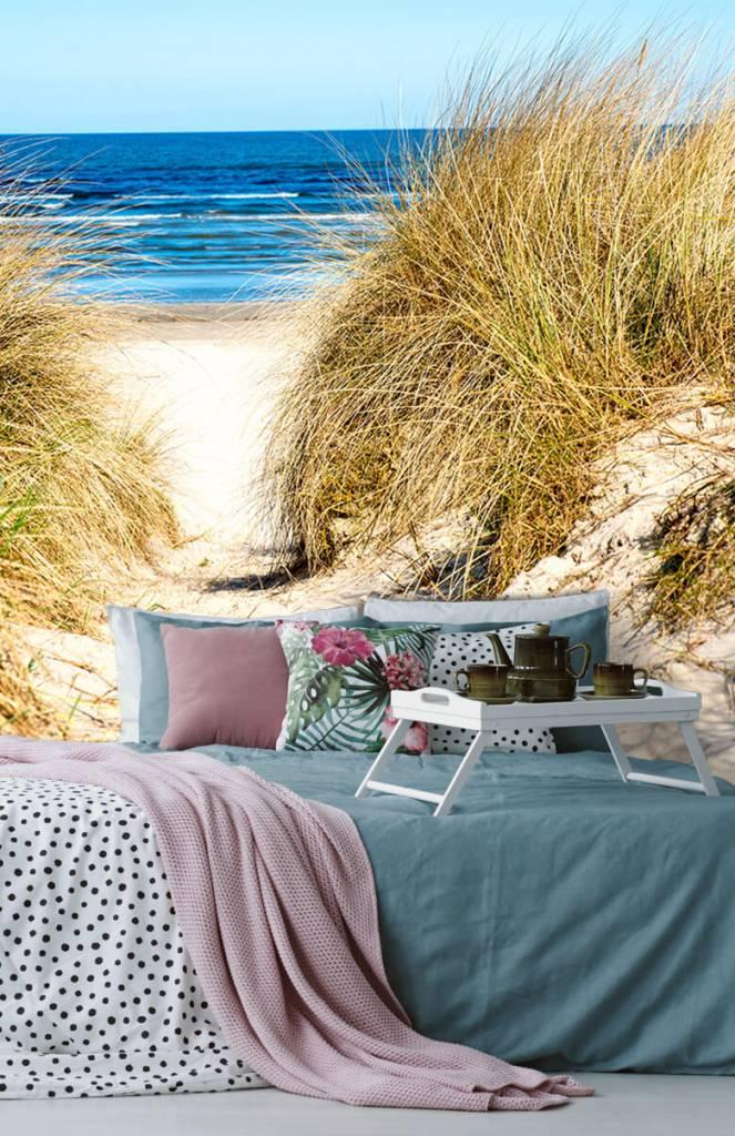 Stranden - Behang met duinen - Slaapkamer 5