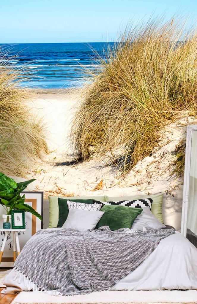 Stranden - Behang met duinen - Slaapkamer 6