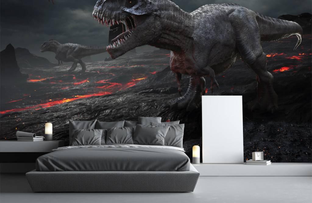 Dinosaurussen - 3D dino - Kinderkamer 1