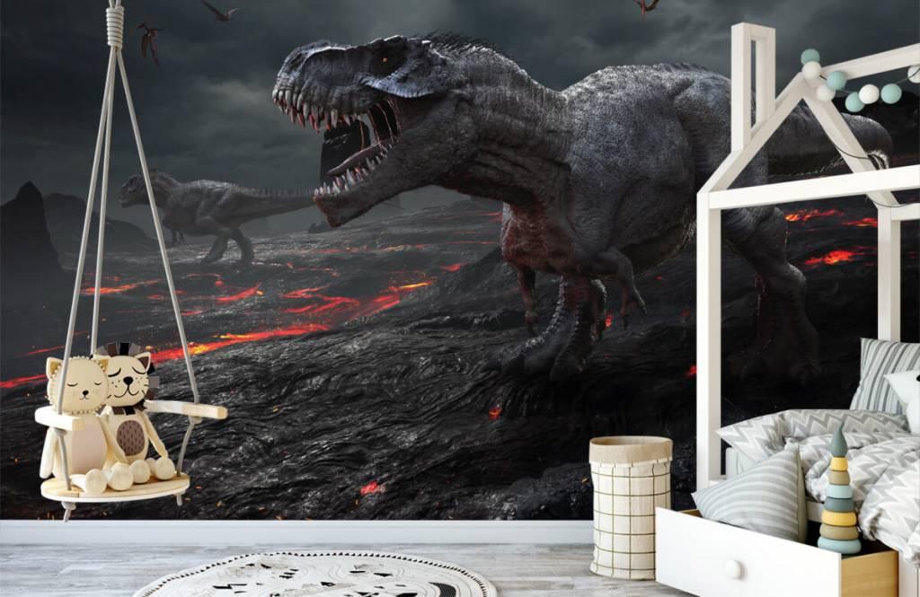 Dinosaurussen - 3D dino - Kinderkamer 2