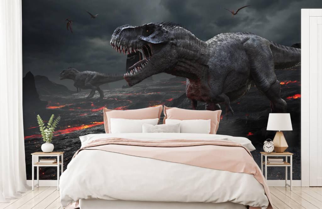 Dinosaurussen - 3D dino - Kinderkamer 3