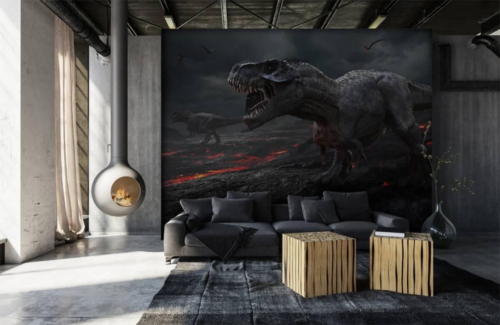 Dinosaurussen - 3D dino - Kinderkamer 4