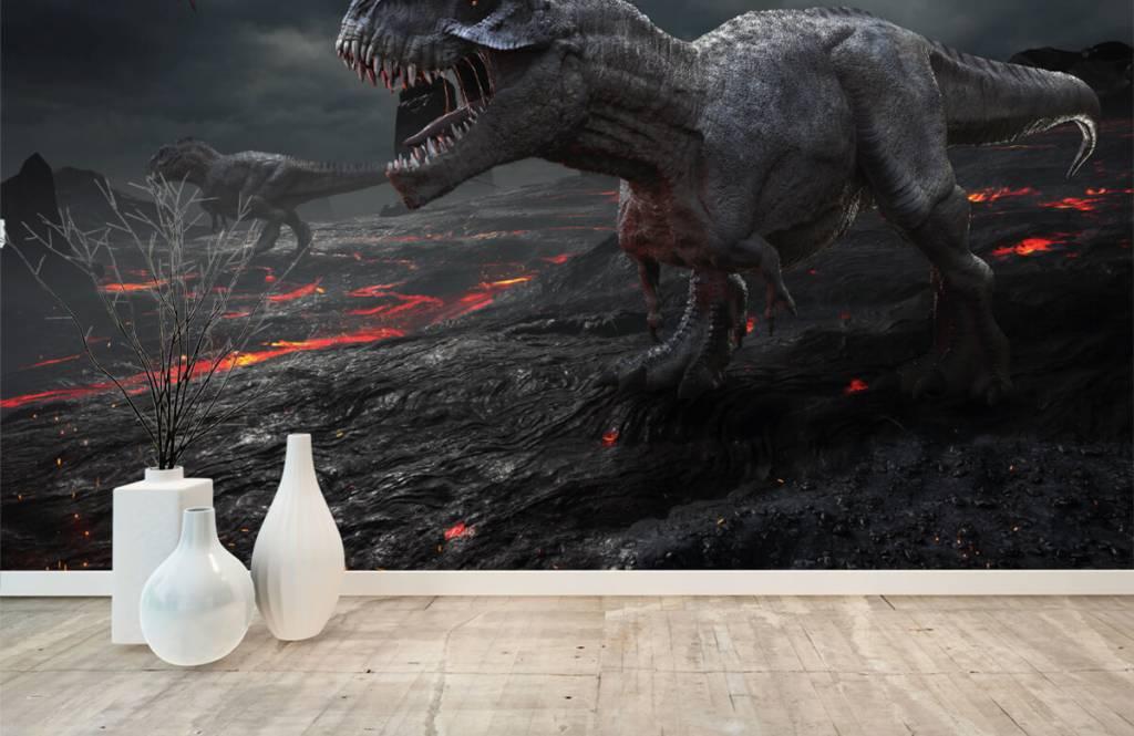 Dinosaurussen - 3D dino - Kinderkamer 5
