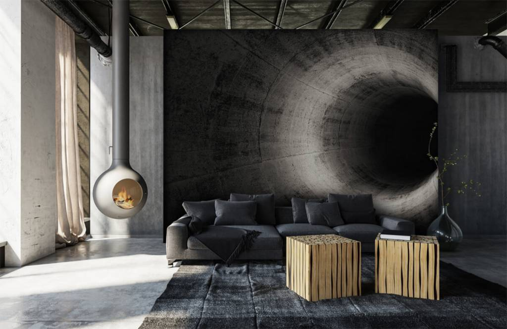 Overige - Betonnen 3D tunnel - Computerruimte 1