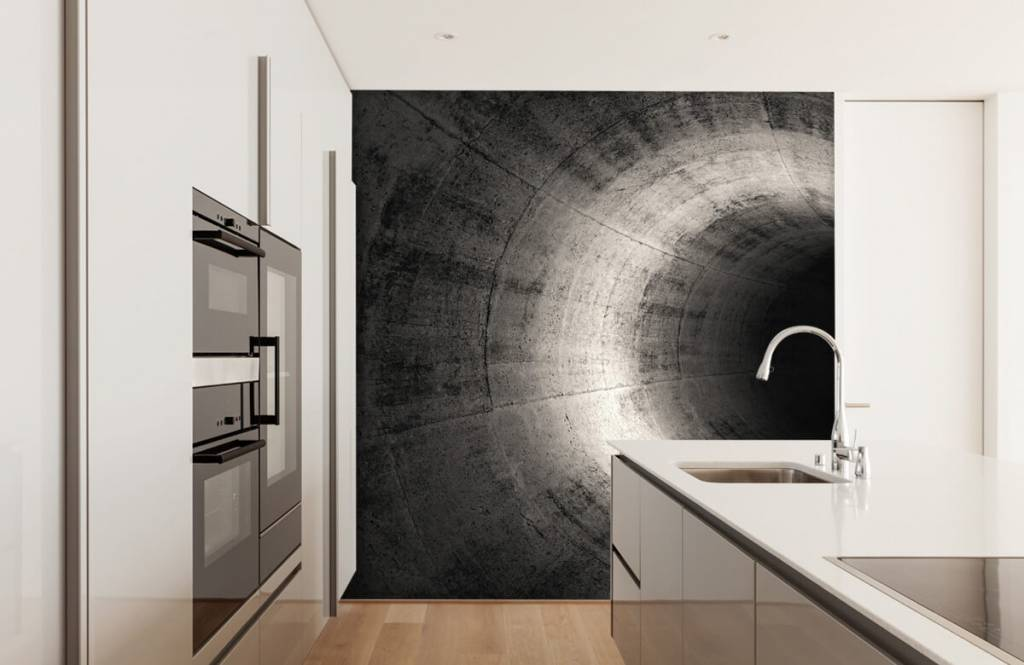 Overige - Betonnen 3D tunnel - Computerruimte 4