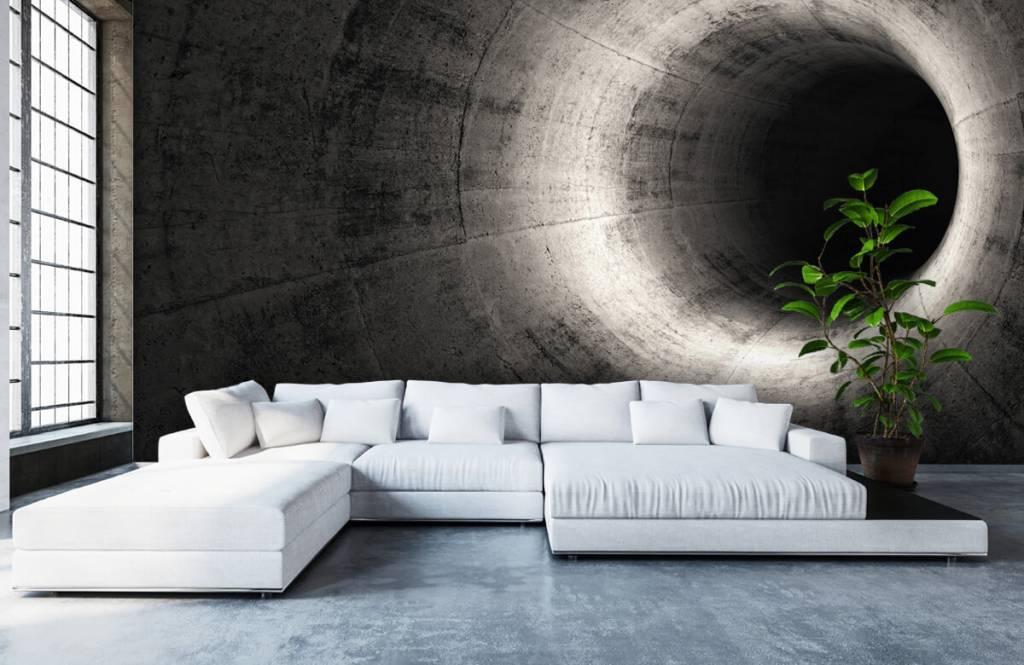 Overige - Betonnen 3D tunnel - Computerruimte 6