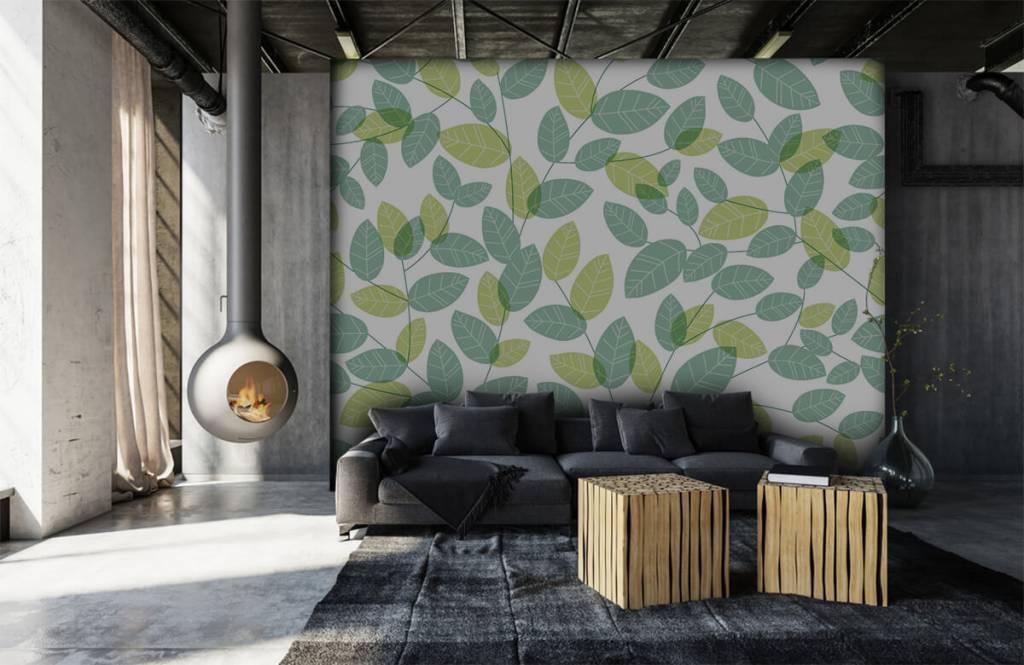 Bladeren - Bladeren patroon - Hobbykamer 6