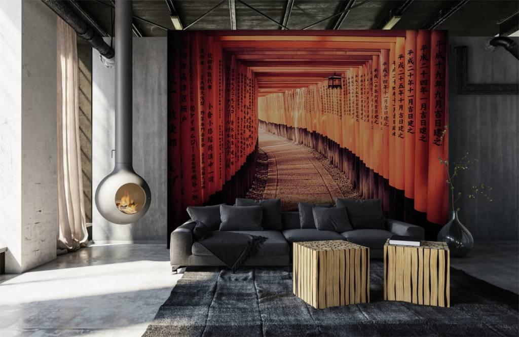 Steden behang - Chinese tunnel - Slaapkamer 1