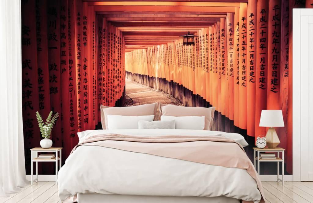 Steden behang - Chinese tunnel - Slaapkamer 3
