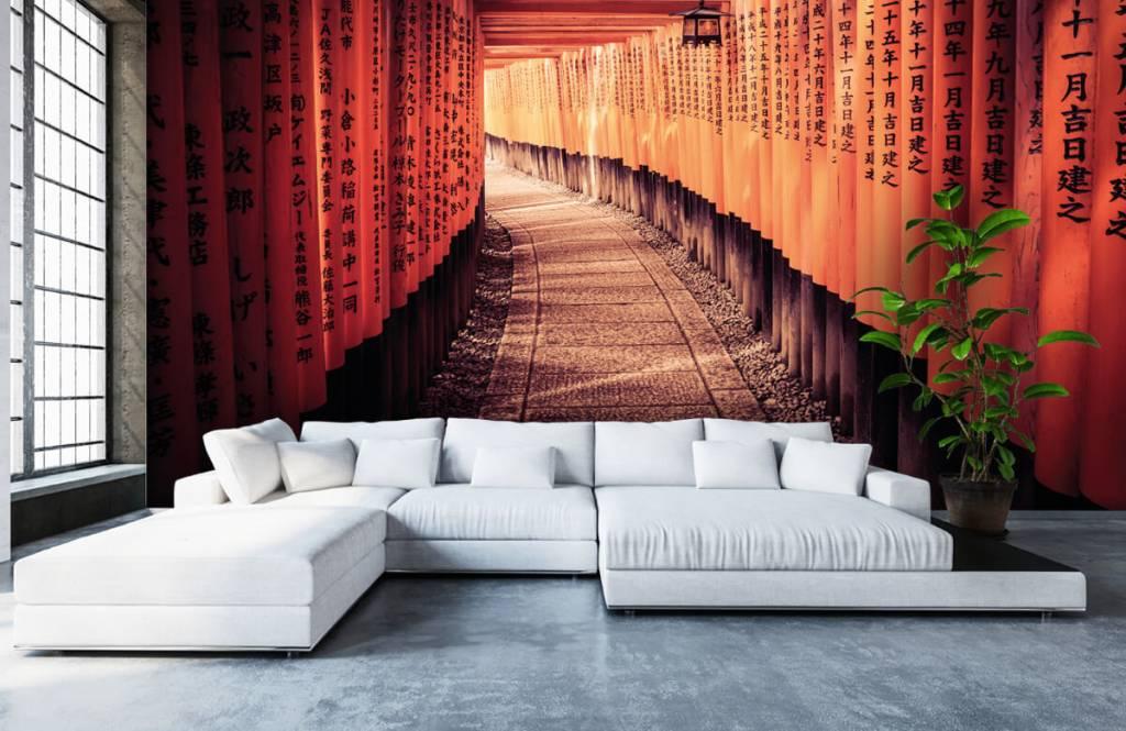 Steden behang - Chinese tunnel - Slaapkamer 6