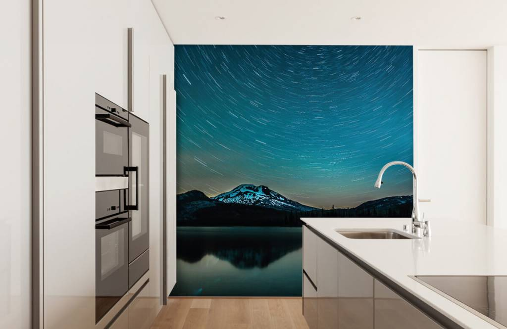 Noorderlicht - Donkere sterrenhemel - Slaapkamer 3
