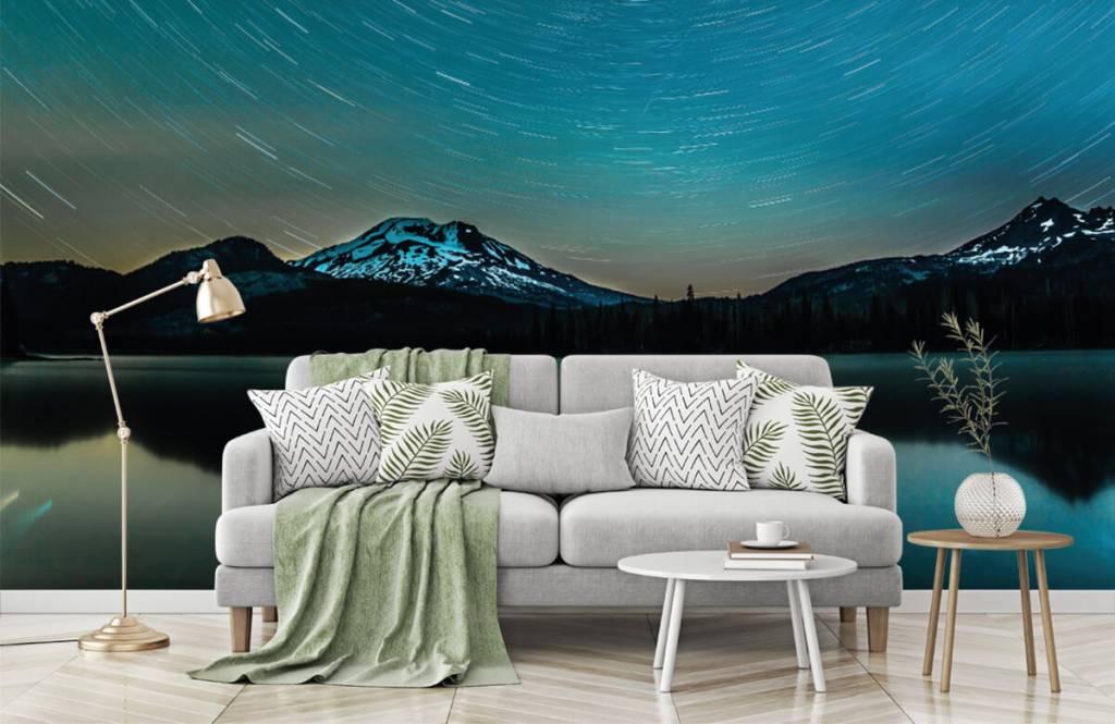 Noorderlicht - Donkere sterrenhemel - Slaapkamer 7