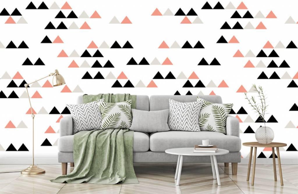 Illustraties - Driehoeken patroon - Kinderkamer 1