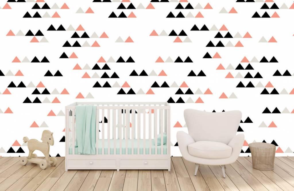 Illustraties - Driehoeken patroon - Kinderkamer 2