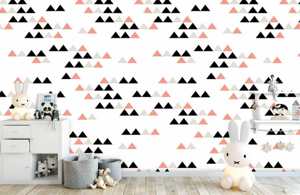 Illustraties - Driehoeken patroon - Kinderkamer 6