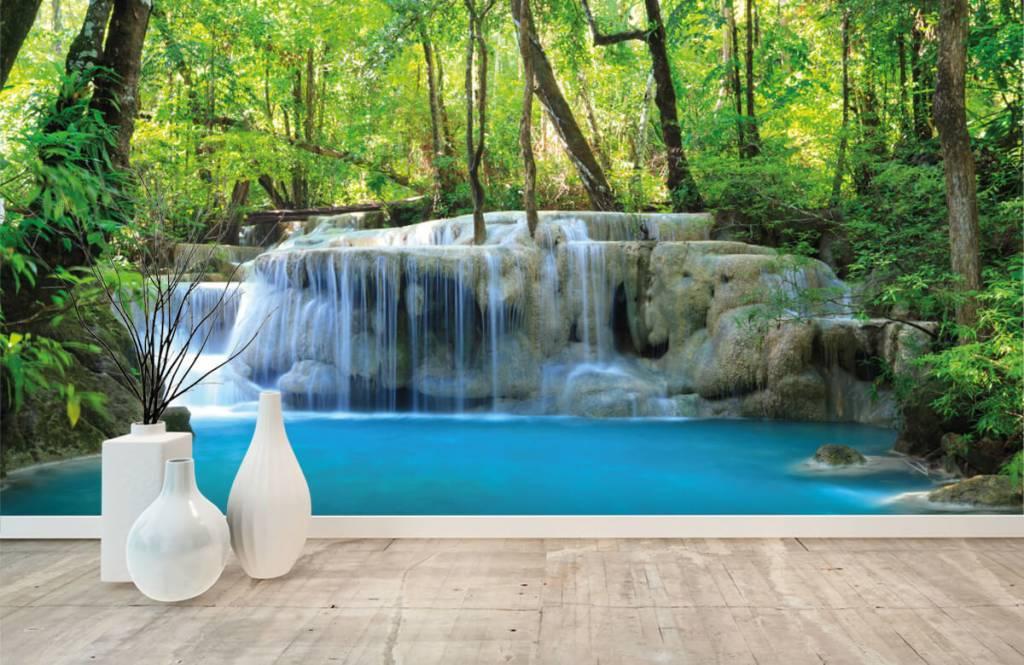Watervallen - Exotische waterval - Slaapkamer 1