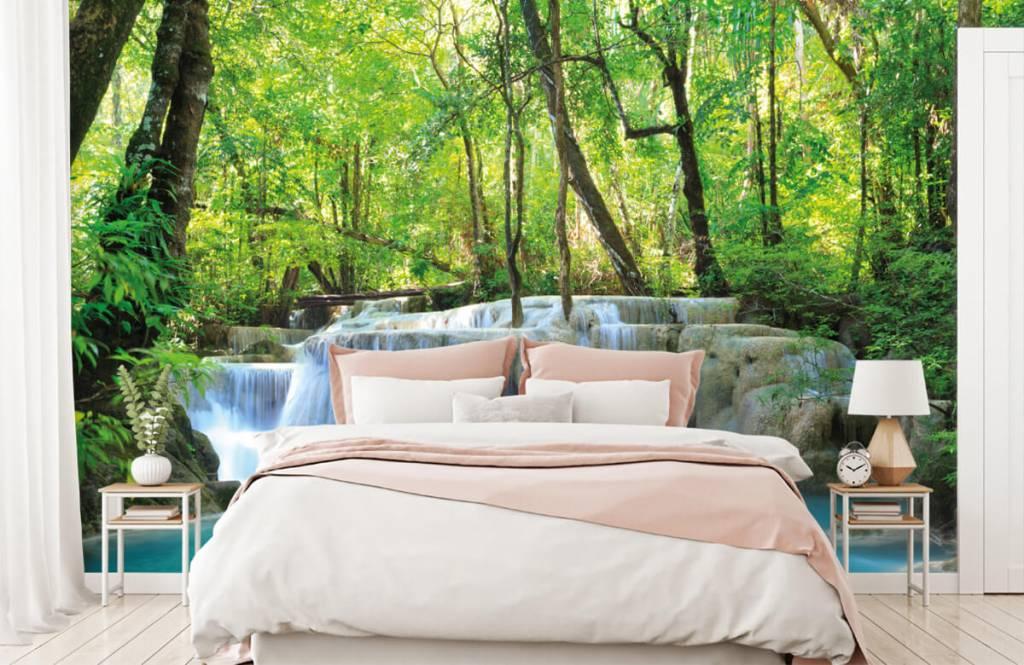 Watervallen - Exotische waterval - Slaapkamer 2