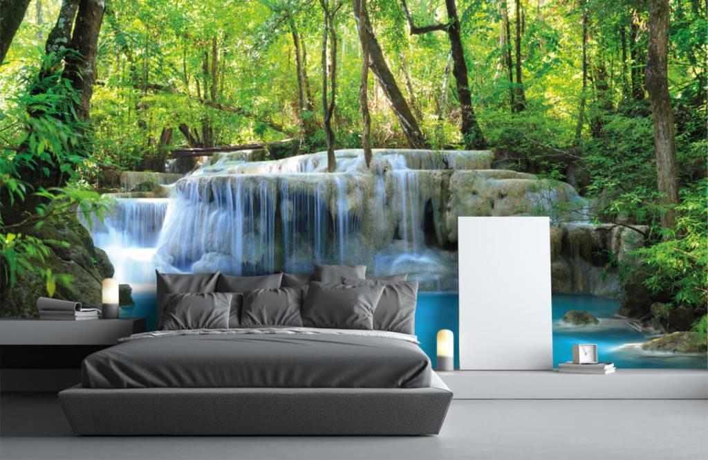 Watervallen - Exotische waterval - Slaapkamer 3