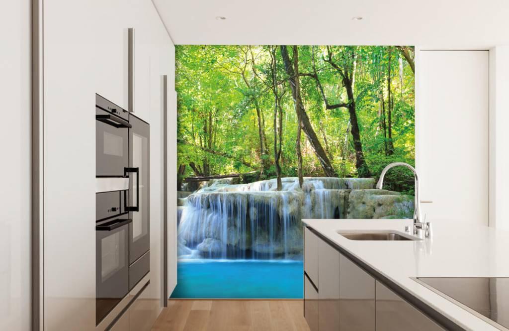 Watervallen - Exotische waterval - Slaapkamer 4