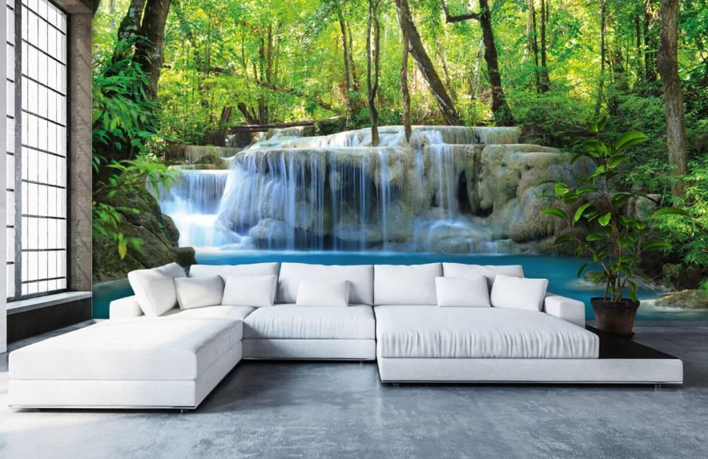 Watervallen - Exotische waterval - Slaapkamer 6