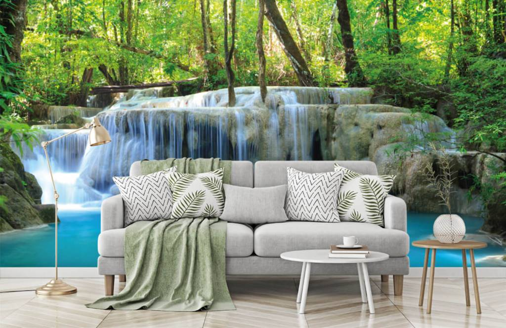 Watervallen - Exotische waterval - Slaapkamer 8