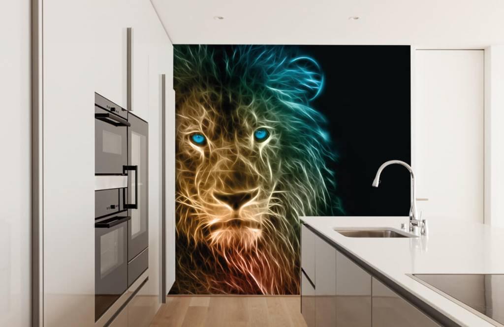 Dieren - Fantasie leeuw - Tienerkamer 4
